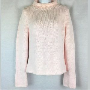 NEW Tommy Hilfiger Womens Sweater Small Pale Pink